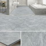plastic floor covering shale marble granite stone effect slotted click lock