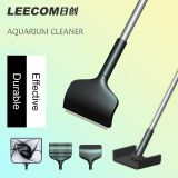 Aquarium Cleaner Leecom 5 in 1 Cleaning Tools- Aquarium Stainless Steel Algae Scraper Cleaner Fish Tank