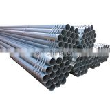 Electrogalvanised steel pipe without thread