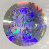 Custom printing design waterproof original authentic 3D hologram sticker label