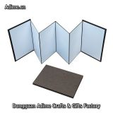 4x6 5x7 6x8 leather linen DIY Self Mount Accordion Photo Book Album