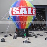 inflatable outdoor giant Advertising ground ballon / giant promotion hot selling grand opening advertising balloon