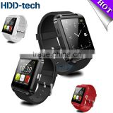 Fashion watch U8 Bluetooth Smart watch waterproof Portable sport watch smart phone watch