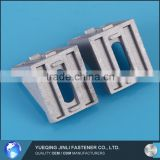 Jinli Chinese Factory Aluminum Profile Accessories 8 Slots Die Cast Angle Bracket