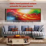 Thick textured European style nice 3d oil painting on canvas