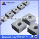 Zhuzhou tungsten carbide inserts for chain saw machines for cutting marble in the quarries