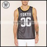 Mens Clothing Gym Wear Athletic Mesh Tank Tops