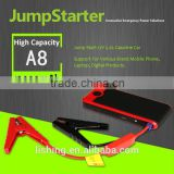 AGA A3 Plus multi-function jump starter 12V car jump starter power bank 12000mah power supply mini auto booster