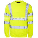 high visibility reflective safety long sleeve shirt