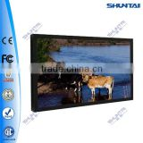 "15""-65"" monitor wifi led hd media player 1080p indoor led advertising open frame digital totem monitor android screen"