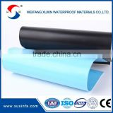 1.2mm thickness white color pvc plastic roll For construction use