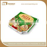 Cheap full printed fast food take away pizza box