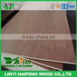 8mm BB/CC grade 4*8ft commercial okoume plywood for USA
