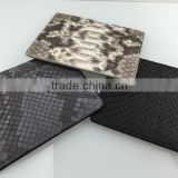 Genuine python snake leather passport holder 2015 leather passport holder exotic skin purse wallet                                                                         Quality Choice