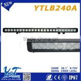 straight 240w 4x4 offroad wholesale led light bars off road