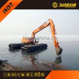 sand dredging machine pontoon excavator SX300SD for sale