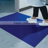 Plastic ground protection mat