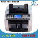 Mixed Denomination & Multi-Currency Counter/Money Counter/Bill Counter with UV,MG/MT,IR Detection for Canadian Dollar(CAD)