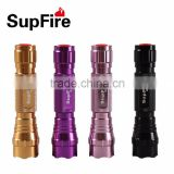 Supfire M4-U2 Rechargeable Flashlight 10W led colorful torch