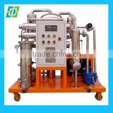 High Recovery Rate Vacuum Oil Filtration System, Black Oil Treatment Equipment