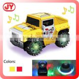 Factory outlet BO mini cartoon car with flashing light