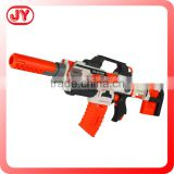 Cheap DIY bricks toy gun B/O soft bullet gun assemble plastic toy gun