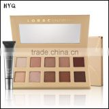 Hot Sale! New Makeup Lorac PRO Unzipped Eyeshadow Powder Palette 10 Color Eye Shadow with Eye Primer