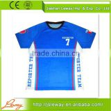 Newest sublimated print american cheap training usa soccer jersey                                                                         Quality Choice