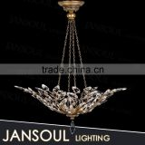 2015 alibaba wholesale new lighting products metal chain clear glass chandelier pendant lamp from china