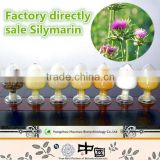 Manufacturing can OEM free sample high quality milk thistle extract water soluble silymarin