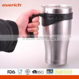 30 oz. Stainless Steel Double Wall Vacuum Leak Proof Travel Cup                                                                         Quality Choice
