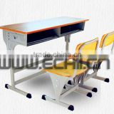 Children study table and chair/School desk and chair/School study table and chair/Furniture for classroom/Student desk and chair