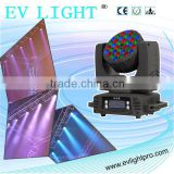dimmable rgb led stage lighting using CREE LED with strong beam effect head moving mini EV BM336
