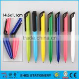 2016 new metal pen aluminum material twist for promotion and gift ball pen
