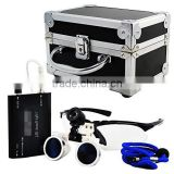 Dental Surgical Binocular Loupes Head Light Lamp Aluminum Box, ZYD-TL026