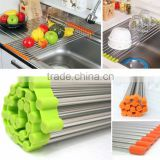Over the Sink Roll Up Drying Rack, Drying Colander