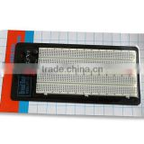 2014 hot sell white ABS metal reed 1360 points solderless breadboard universal prototype pcb