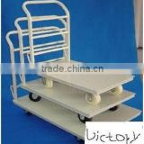 China factory manufacture high quality platform Warehouse hand pallet truck