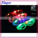 Party plastic led lighting glasses Party flashing led glasses light glasses Led glasses party