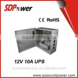 SDPower 120w 12v 10a uninterrupted power supply for cctv / security / access control system