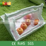 Recycled cheap wholesale handmade wedding decorative rectangular bread baskets wholesale fruit baskets