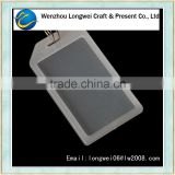 LW identification tag acrylic keychain photo frame(blank keyring)