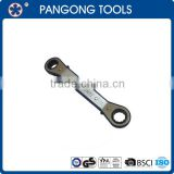 25 Degree Offset Head Reversible Ratchet Spanner set