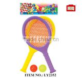 Outer sport toys summer beach play set tennis racquet for wholesale