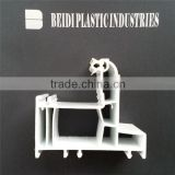 UPVC Profiles for window and door/Fire-Proof Plastic Window and Door Profiles/Plastic profiles/Color pvc profile