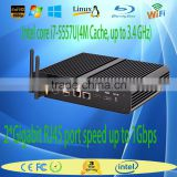 2016 small form factor pc i7 mini computer Intel Core i7-5557U with small size low power barebone PC I7 with WIFI HDMI USB3.0