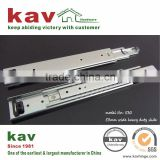 71mm wide ball bearing extra heavy duty drawer slide for goods shelf of warehouse cabinet
