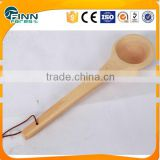 Model KD-004A dry sauna accessories pine ladle for sauna room and 4L wooden sauna bucket