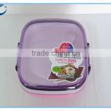 Chinese factory PP PC home storage plastic lunch box clear plastic bento box plastic lunch box