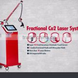 Factory price CE approved fractional co2 laser scar removal fractional laser co2 rf tube